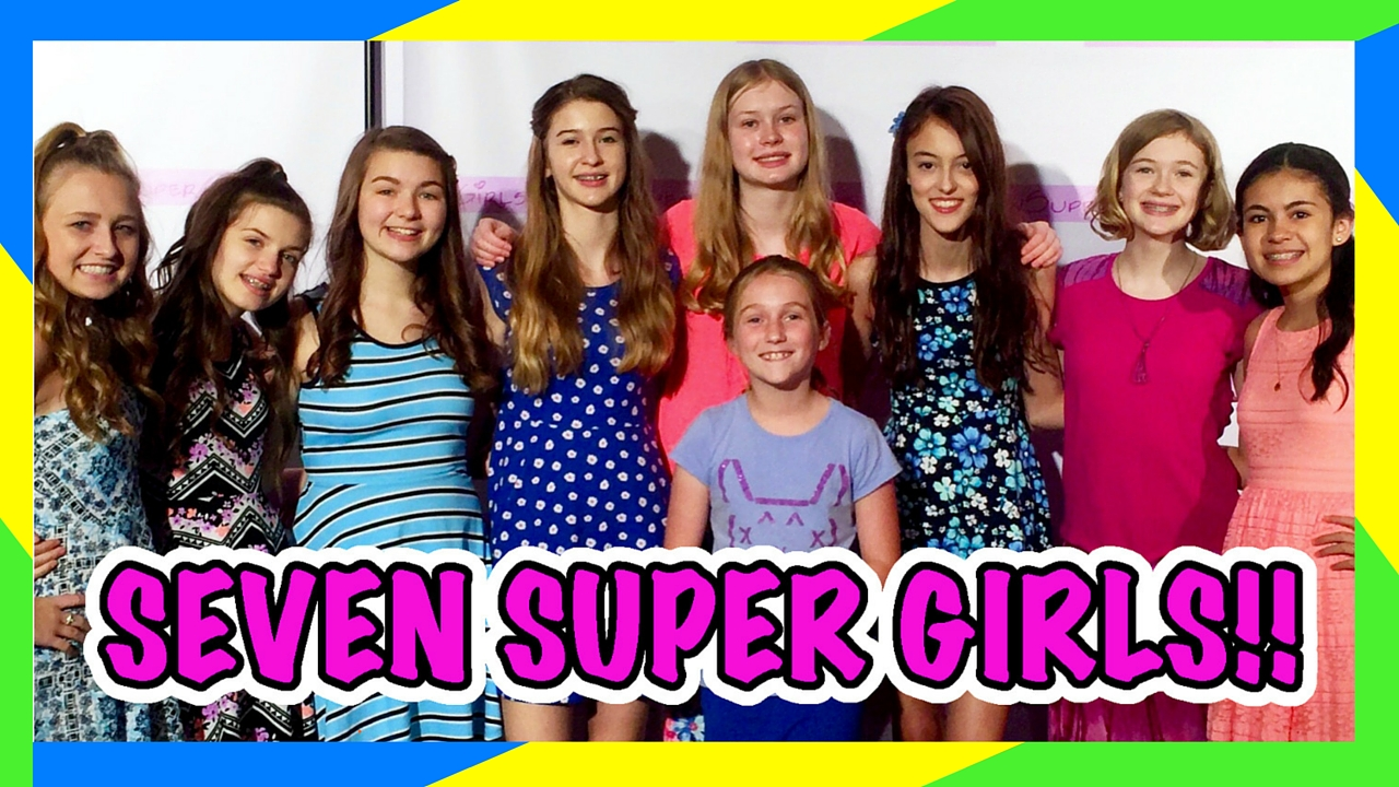 Google Seven Super Girls