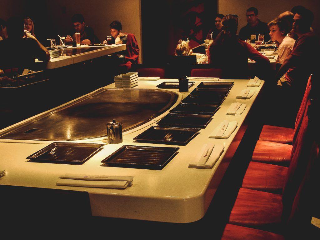 Teppan Edo Cook Table