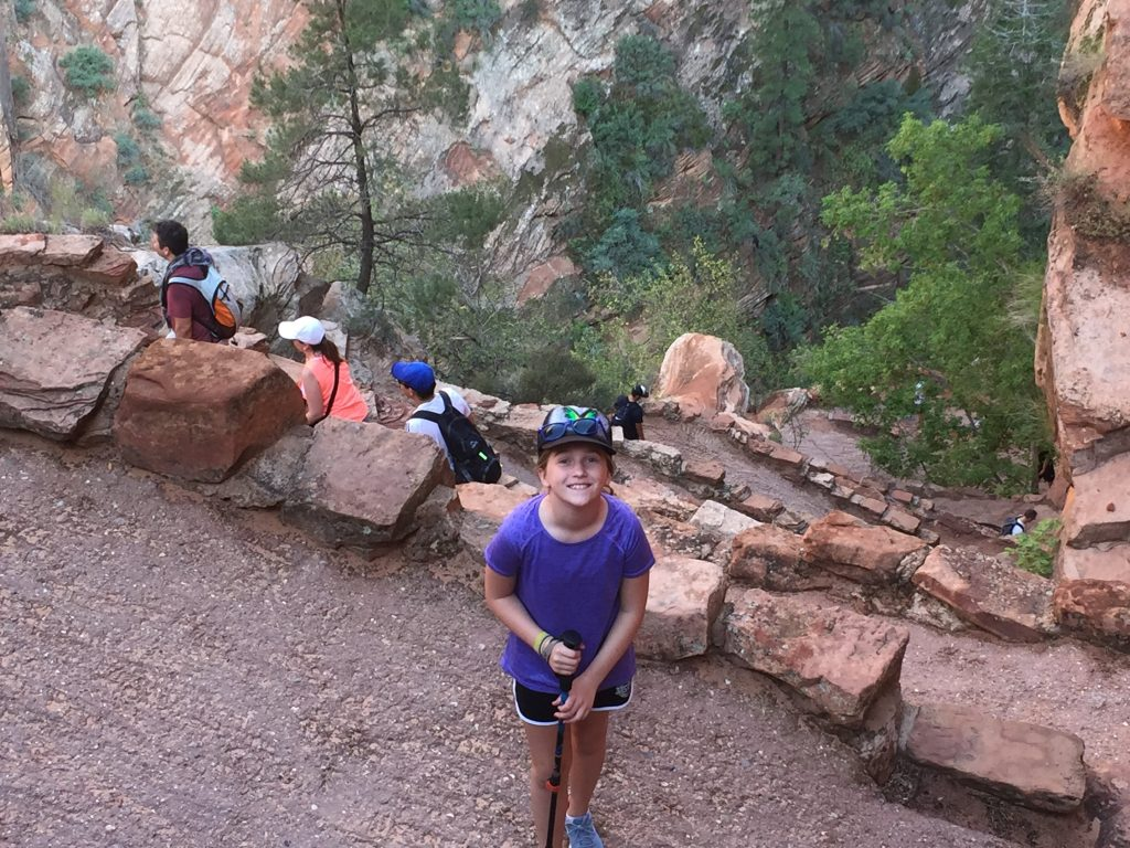 Zion Hikes Angels Landing Switchbacks